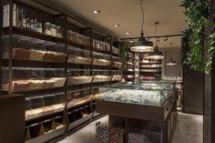 ALL NUTS! - Cafés / Pastry shops - PROJECTS | STONES&WALLS