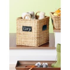 Set of 6 foldable fabric canvas baskets fabric basket capri and