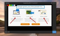 #TechSmith #Snagit, toma capturas de pantallas en Chrome y guarda en Google Drive