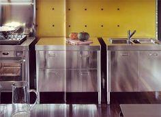 Alpes Inox Kitchens. A better look than fake farmhouse?