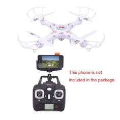 RC Drone F805C 4CH 2.4G With 0.3MP Camera wifi FPV rc drone LED Light Headless Mode Remote control toys for child best gifts
