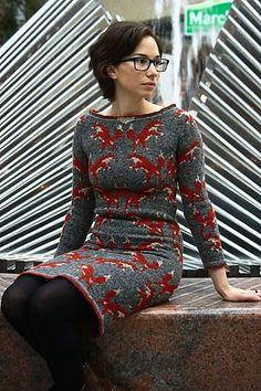 Ravelry: Foxy Dress pattern by Jacqueline Schiller