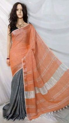 New Arrival Lenin Sarees - Elegant Fashion Wear Elegant Fashion Wear, Trendy Fashion, Indian Designer Suits, Cod, Cool Style, Free, Saris, Shopping, Clothes