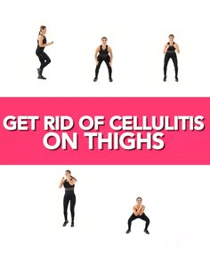 The occurrence and minimize the appearance by cellulite in the thighs. To manage cellulite, try some of the best workout to get rid of thigh cellulite. Fitness Workouts, 7 Workout, Workout Challenge, At Home Workouts, Gym Fitness, Fitness Quotes, Motivation Quotes, Toning Workouts, Enjoy Fitness