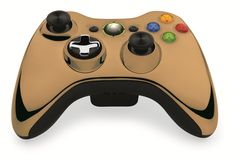 Custom Xbox 360 Controller  Wireless Glossy Half-Green Beige-And-Half-Yellow Olive- Without Mods