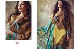 Sana Safinaz Ladies Eid Lawn Designer Dresse http://clothingpk.blogspot.com/2015/06/lala-vintage-eid-designer-kurti-dresses-2015.html