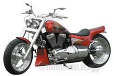 Suzuki Intruder VL1500 with some bolt ons from Thunderbike