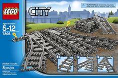 LEGO Trains Switch Tracks (7895) - FREE FAST SHIPPING #Lego