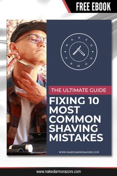 From dry shaving to using the wrong razor, we compiled 10 of the most common mistakes and provided a guide on how you can fix each of them.   Visit our website and download the FREE EBOOK now!