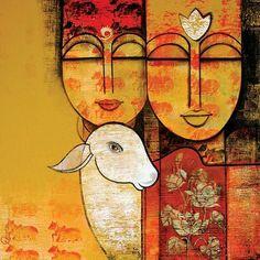 New Contemporary Art Gallery Interior Ideas Ganesha Painting, Buddha Painting, Madhubani Painting, Buddha Art, Pichwai Paintings, Indian Art Paintings, Famous Artists Paintings, Abstract Paintings, Landscape Paintings