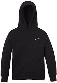 Nike 619080-010 Sweat-shirt à capuche Homme Noir/Blanc FR : M (Taille Fabricant : M)