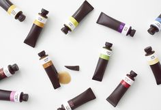 Chocolate Paint Set by Nendo