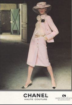 Chanel 1983 Arthur Elgort Haute Couture Kampagne 4