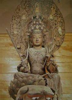 文殊菩薩像(奈良・文殊院)