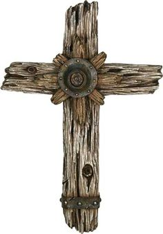 A Greay Wooden Western Cross