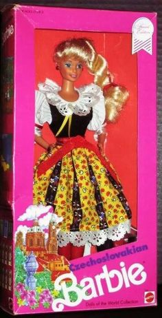 Love this czechoslovakia barbie doll.