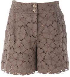 Flower lace shorts / ShopStyle: Naracamicie フラワースカラレースショートパンツ  - shopstyle.co.jp