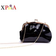 2016 in Europe and America new famous brands design leisure small bag luxury patent leather shoulder bag women bag