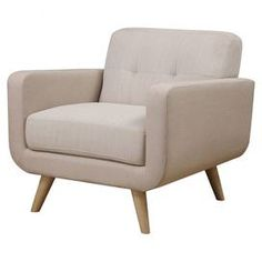 Classic midcentury-inspired arm chair,