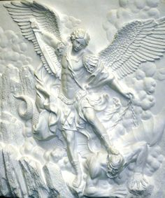 St. Michael Wall Plaque [21088] - $149.99 : The Art of History!, The ...