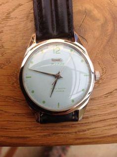 GENUINE-HMT-PILOT-1970s-vintage-Military-wrist-watch