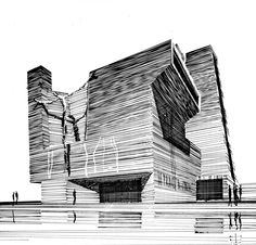 HUNTER, RICE & ENGELBRECHT  ST. MARY'S CHURCH, WINNIPEG    in:ALFRED M. KEMPERDRAWINGS BY AMERICAN ARCHITECTS, 1973