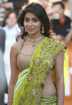 Saree Blouse Back Neck Designs - Latest Indian Fashion Saree Blouse Patterns, Saree Blouse Designs, Sari Blouse, South Indian Actress, Beautiful Indian Actress, Indian Attire, Indian Outfits, Bollywood Fashion, Bollywood Actress