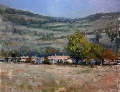 ARTFINDER: Farm near Sisteron by Pascal Giroud - Material : - MDF Panel (thickness : 3mm) with 3 layers of gesso. - Oil painting extra-fine Rembrandt - Retouching Varnish Turner Sennelier - Delivered with…
