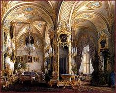 winter palace - Drawing room, Rococo style
