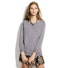 $58 I never seem to be able to pull off the sweatshirt + girly skirt combo w/out looking slightly homeless...*sigh*