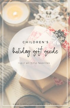 Minimalist Christmas Gifts For Kids 2019 - Simply Learning Holiday Gift Guide, Holiday Gifts, Bday Gifts For Him, Simply Learning, Christmas Gifts For Kids, Christmas Presents, Christmas Ideas, Minimalist Christmas, Unique Gifts For Men