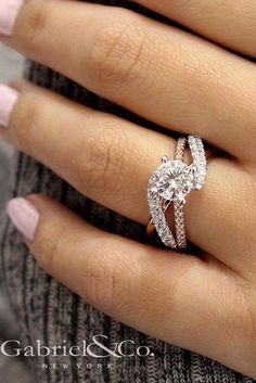 30 Wedding Ring Sets That Make The Perfect Pair | Pinterest | Bridal ...