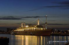 SS Rotterdam, Katendrecht, Brielselaan, Rotterdam, harbour, haven, Maas, river, rivier