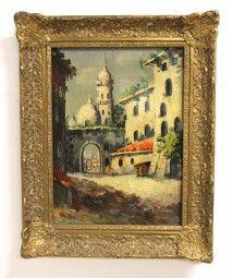 Gemälde Orient Moschee
