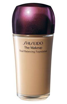 Shiseido 'The Makeup' Dual Balancing Foundation available at #Nordstrom