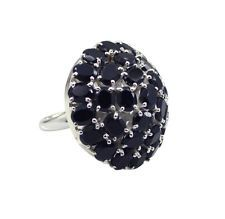 pretty Black onyx 925 Sterling Black Ring wholesales L-1in US 5678