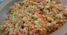 Salad Recipes Gotta try: raw vegetables Kohlrabi carrot zucchini peppers Salad Recipes Raw, Raw Food Recipes, Meat Recipes, Vegetarian Recipes, Healthy Recipes, Cheese Appetizers, Appetizer Recipes, Simple Appetizers, Seafood Appetizers
