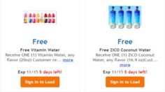 FREE Vitamin and ZICO Coconut Water at Ralphs on http://www.icravefreebies.com/