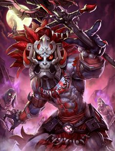 Smite - Ah Puch Death Mask