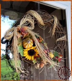 Finally! I have my fall wreath up on the door. After traveling to to Cincinatti this weekend for the CKC convention (more on that later) and seeing all of the trees already starting to turn colors up there, it made me just itch to get the fall decor out as soon as I got home. [...]