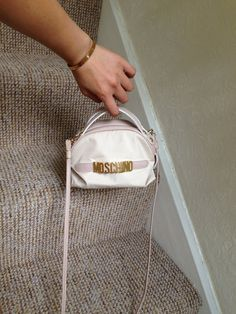 Nice little Moschino Redwall cross-body bag. Made in Italy. Zip closure with M zip head. See picture Moschino Bag, Cross Body, Crossbody Bag, Italy, Backpacks, Closure, Zip, Portrait, Trending Outfits