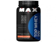 Whey Protein Top Whey 3W 900 g Vitamina de Frutas - Max Titanium