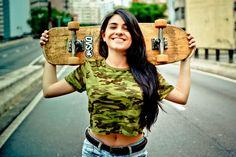 Bruna - girl skater by danielevsilva