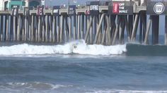 #Vans #USOpen of Surfing 2014 Highlights from Round-1. Includes close up shot of the pros walking on the beach. Video by Sky Dominguez