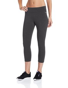 Jockey Women's Capri Legging with Wide Waistband *** See this awesome image  : Plus size Activewear