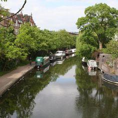 #Regram post to @pinterest Regents Canal near Primrose Hill. #waterwayswednesday #london #camden #canals #waterways by djalicat - #ViralInNature is named by Clutch.co as Canadas Top Social Media Marketing Agency http://vnat.ca/TopSocialMediaAgencyCanada2016 Visit us at http://bit.ly/1seeN6z