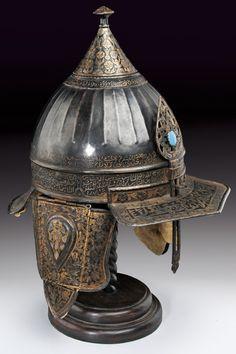 A turban style helmet, Turkey 19th century.