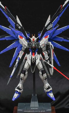 Freedom Gundam - Customized Build Modeled by ghost Gundam Toys, Gundam Art, Transformers, Barbatos Lupus Rex, Gundam Tutorial, Strike Gundam, Fox Drawing, Gundam Astray, Frame Arms Girl