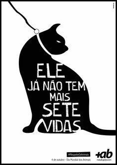 Portal Mais AB , World Day of Animals poster, Brazil