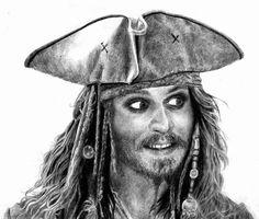 Deep in captain jack sparrow